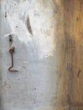织地不很细油漆被弄脏的老木头 图库摄影