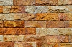 织地不很细砖墙 免版税图库摄影