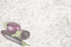 织地不很细老石头用三茄子 免版税图库摄影