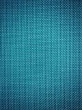 织地不很细蓝色材料 免版税库存照片