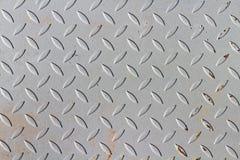 织地不很细金属板绘与灰色油漆 抽象背景 库存照片