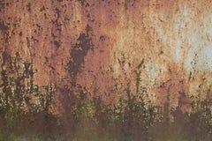 织地不很细金属生锈的篱芭 库存照片