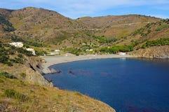 地中海小海湾在鲁西永 库存图片