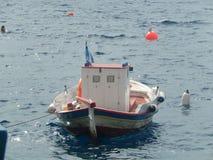 地中海小船 图库摄影