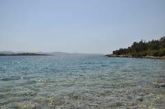 地中海岸 库存图片