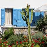 地中海房子 库存图片