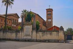 地中海教会 库存照片