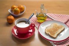 地中海早餐 库存照片