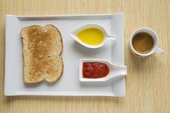 地中海早餐 库存图片