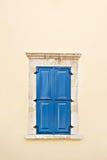 地中海样式窗口 免版税库存照片