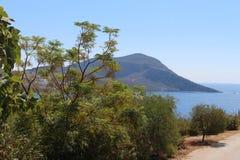 地中海横向 免版税图库摄影
