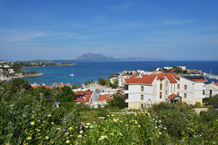 地中海海岸在Datca,土耳其 图库摄影