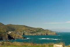 地中海海岸 库存照片