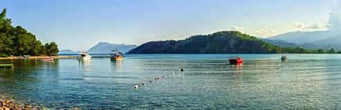 地中海海岸 免版税库存照片