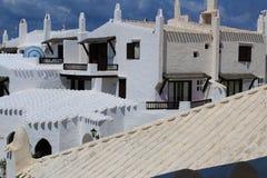 地中海灯塔和海岛在Menorca,西班牙 旅行欧洲 Viajar Croacia 库存照片
