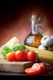 地中海的厨房 库存照片