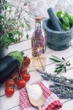 地中海的厨房 图库摄影