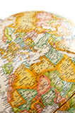 地中海的地球 图库摄影