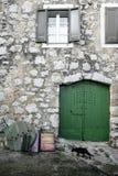 地中海的房子 图库摄影