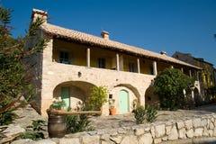 地中海的房子 库存图片