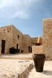 地中海的房子 免版税图库摄影
