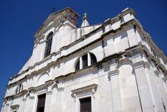 地中海的教会 库存照片