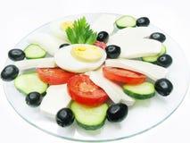 地中海的早餐 免版税库存照片