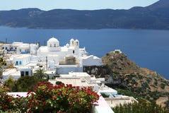 地中海的横向 免版税库存照片