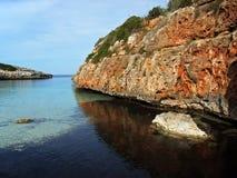 地中海的海岛 库存照片