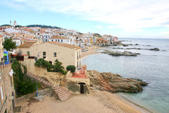 地中海的海岸 库存图片