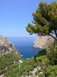 地中海的海湾 免版税图库摄影