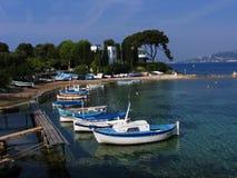 地中海的海滨广场 库存照片