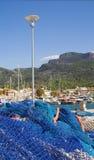 地中海的海滨广场 免版税库存照片