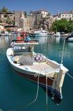 地中海的港口 库存照片
