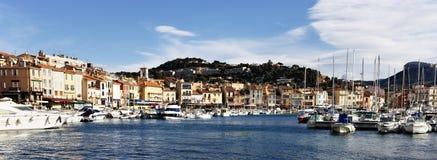 地中海的港口 免版税库存照片