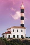 地中海的灯塔 图库摄影