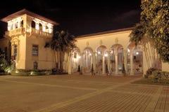 地中海的豪宅 免版税库存图片