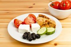 地中海的食物 免版税库存照片
