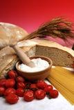 地中海的饮食 库存图片