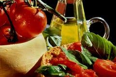 地中海的饮食 库存照片