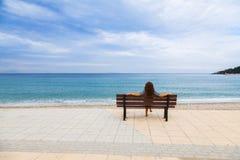地中海看法 图库摄影