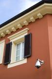 地中海结构的颜色 免版税库存图片