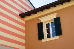 地中海结构的颜色 库存图片