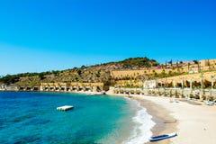 地中海美好的横向 库存照片