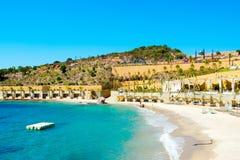 地中海美好的横向 免版税图库摄影