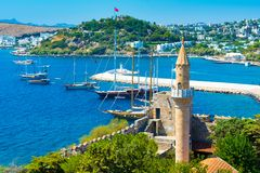 地中海美好的横向 库存图片
