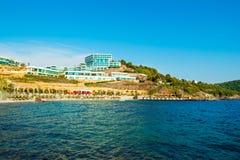 地中海美好的横向 免版税库存照片