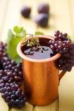地中海酒 免版税库存照片