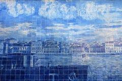 地中海陶瓷砖艺术  图库摄影