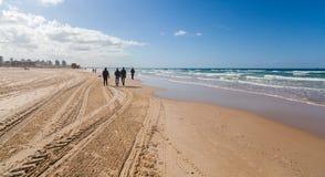 地中海风景海岸  免版税库存图片